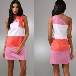 See by Chloe One Shoulder Colorblock Dress